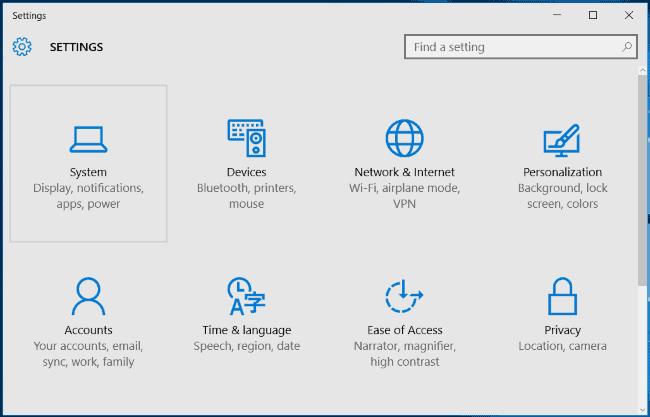 Windows 10 Notification Setting