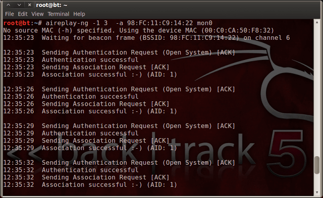 Speeding Up WiFi Hacking Process in Backtrack 5