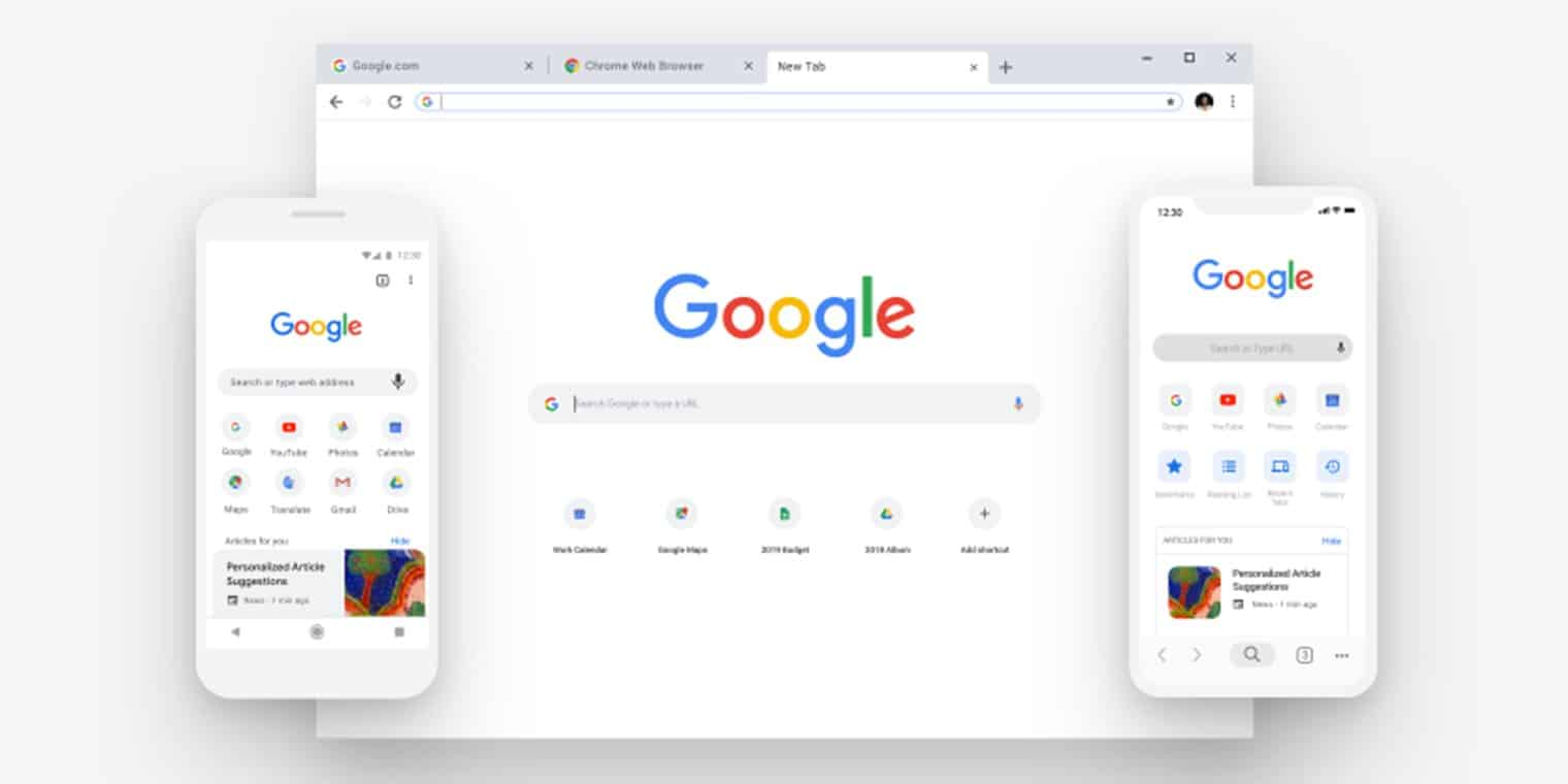 Google Chrome 69 : A New Material Design for Android , Windows and IOS