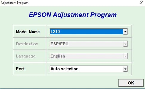 Download Epson Resetter Tool - Epson L220, 210,380,120