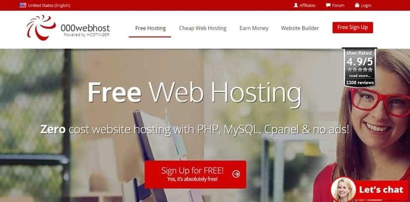 10 Free WordPress Hosting with Free Domain Registration 2