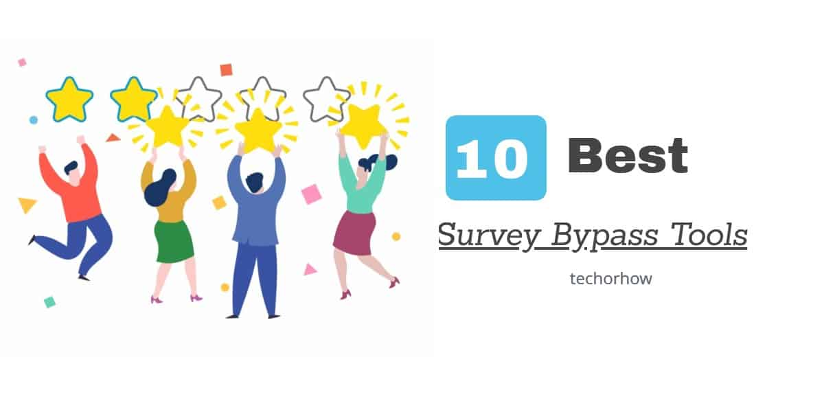 10 Best Survey Bypass Tools & Remover Software (Updated) 2019