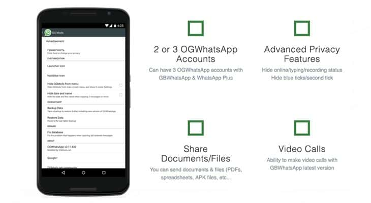 OGWhatsApp Latest Version 8.0 Features - Techorhow