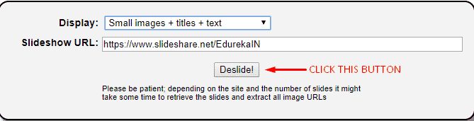 DeSlide: How to Remove Slideshow from Websites 2