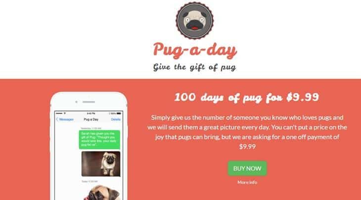 Pug A Day - Best Prank Websites 2020