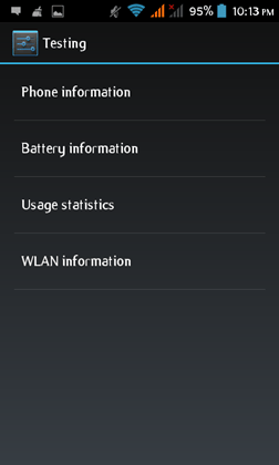 Mobile Phone Testing