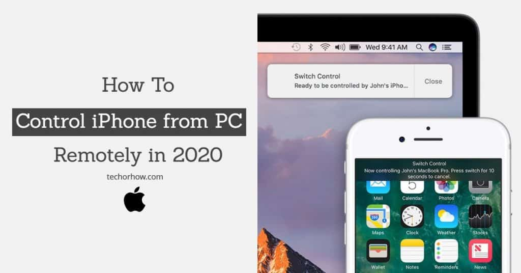 How to Control iPhone from PC Remotely in 2020