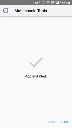 Installing Mobile Uncle Tool