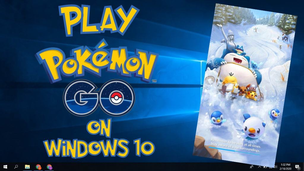 How to Play Pokemon Go on Windows 10