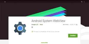 What us Android System web View and How to Enable it?
