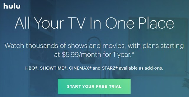 Hulu - Sites like TheWatchseries.to