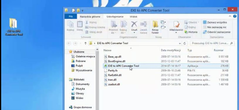 How to Convert Exe to APk files on Windows