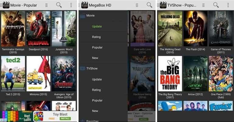 Megabox - Watch HD Shows Online