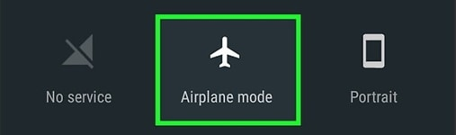 Turn Airplane Mode on/off