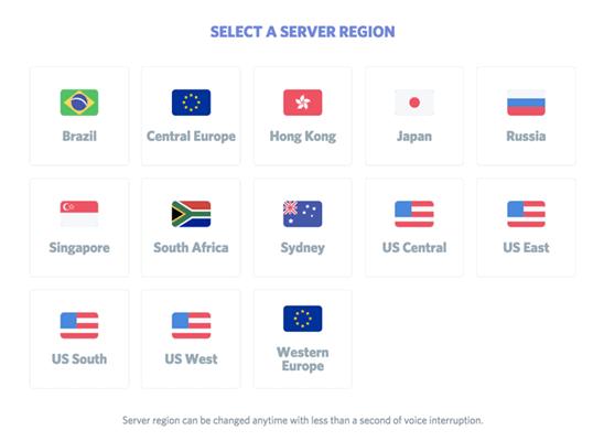 Select Discord Server