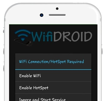 Use WiFiDroid on PC to Transfer Files