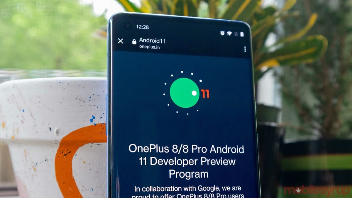 OnePlus 8 and 8 Pro Gets Android 11 Beta [Developer Preview]