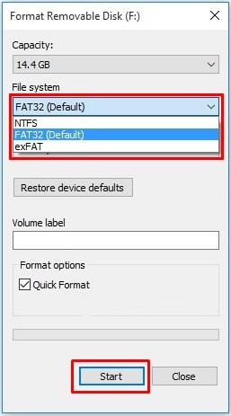 Formatting USB drive as FAT 32 System for Sony PlayStation 3