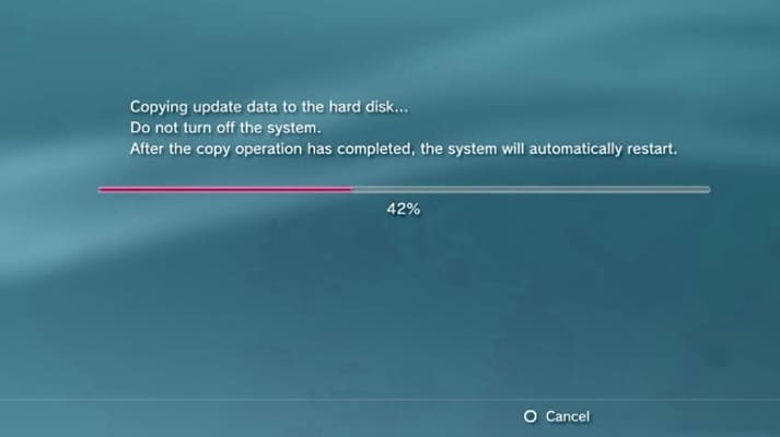 Updating PS3 Firmware
