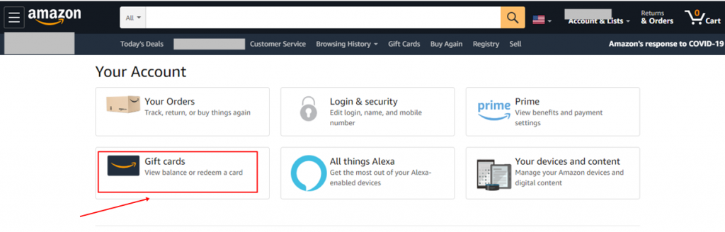 How to Check Amazon Gift Card Balance without Redeeming