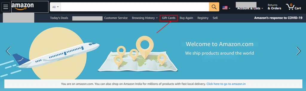 How to Buy Gift Card from Amazon.com