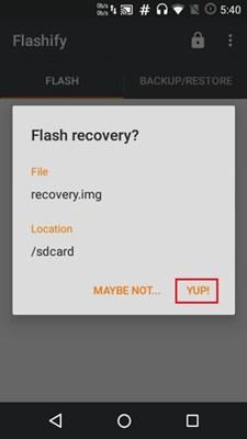 Flash TWRP on Moto One Fusion Plus