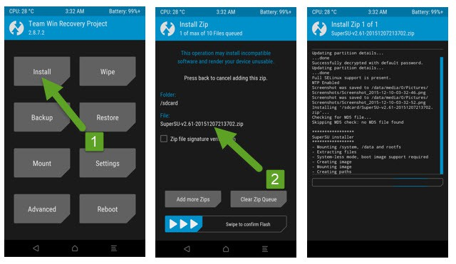 How to Root Motorola One Fusion Plus Using Supersu.zip and TWRP