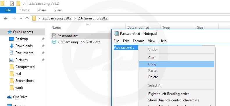 Samsung Tool Pro Password