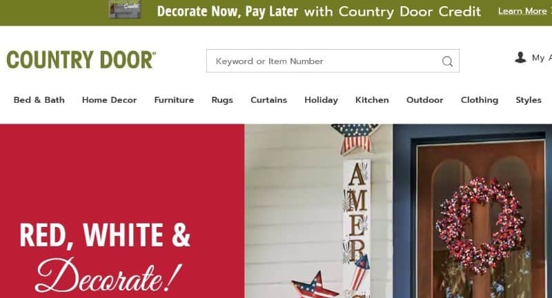 Countydoor Perfect Alternative to Fingerhut