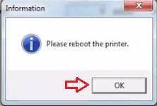 Reboot Printer