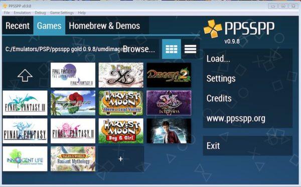 PPSSPP PS3 Emulator for Windows