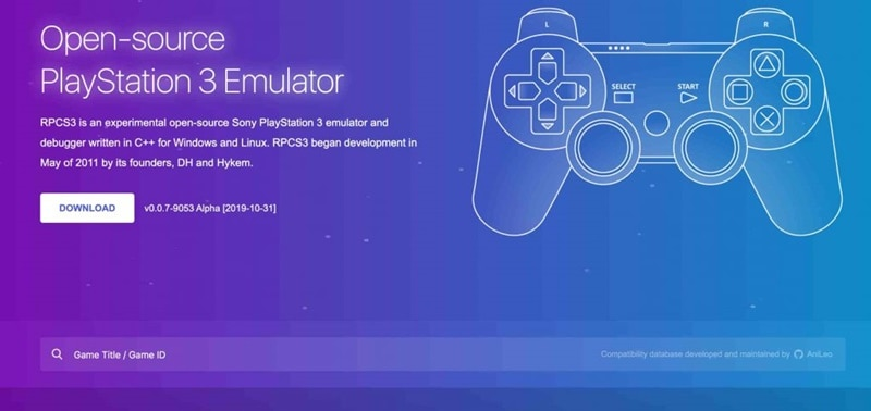 RPCS3 PS3 Emulator For PC in 2021