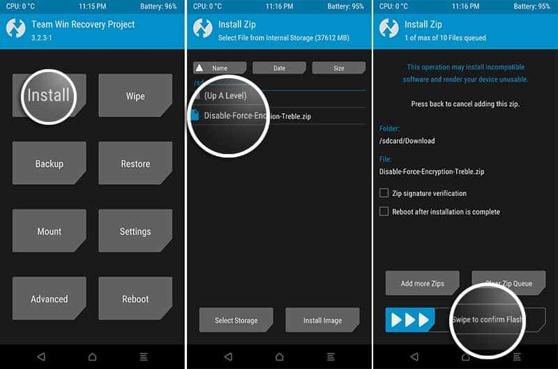 Root Xiaomi Mi A2/A2 Lite and Install Forced Encryption Disabler