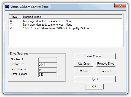 Microsoft Virtual CD-ROM Mounter