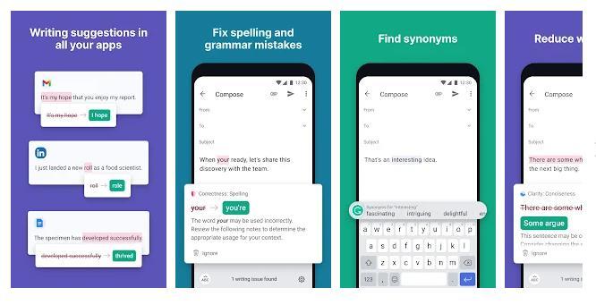 Grammarly - Plagiarism Checker App